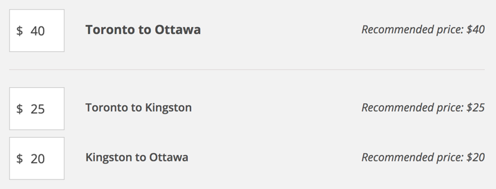Rideshare from Toronto to Ottawa