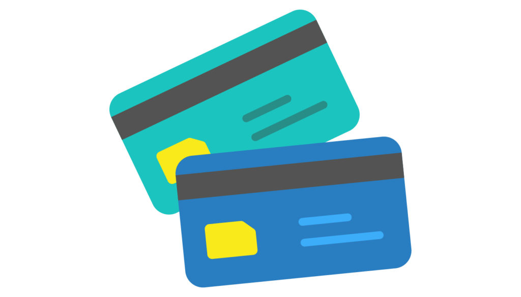 Poparide credit cards illustration