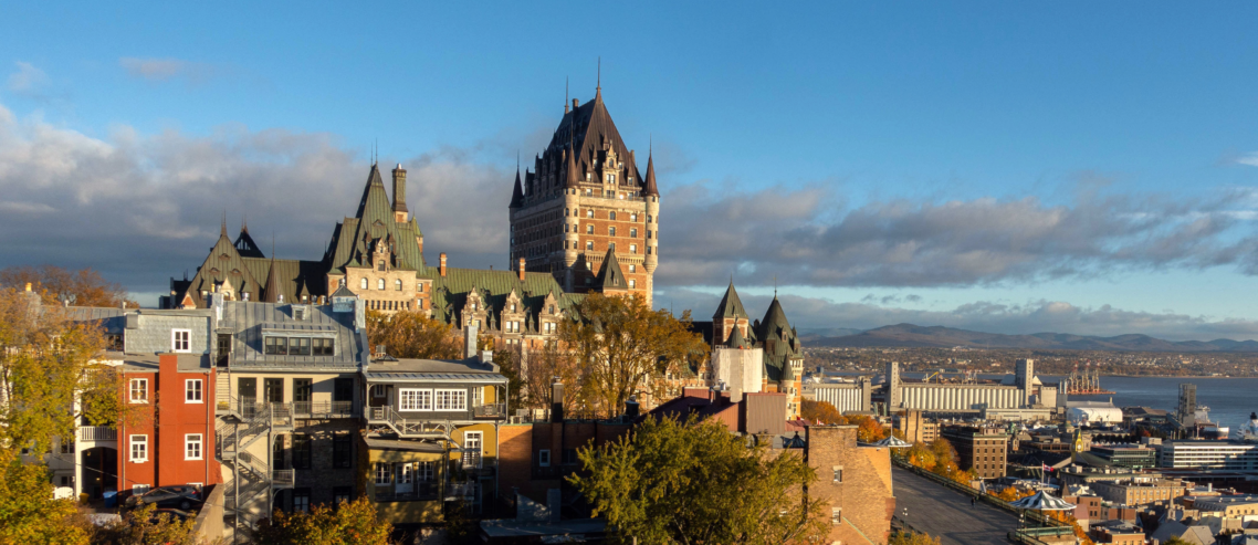 Quebec City Chateau Frontenac by Rich Martello
