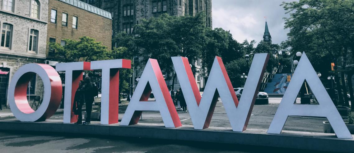 "The ""Ottawa"" sign at ByWard Market"