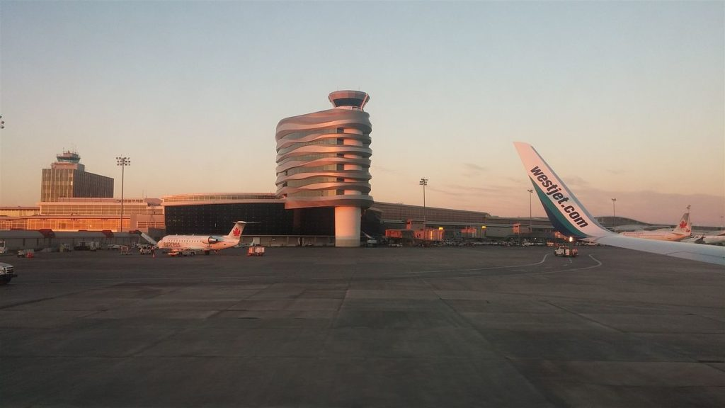 Edmonton International Airport Control Tower